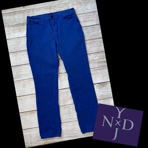 NYDJ Blue Color Ankle Jeans